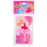 Amscan Einladungskarten & Umschläge Barbie Pink Shoes 6 Stück