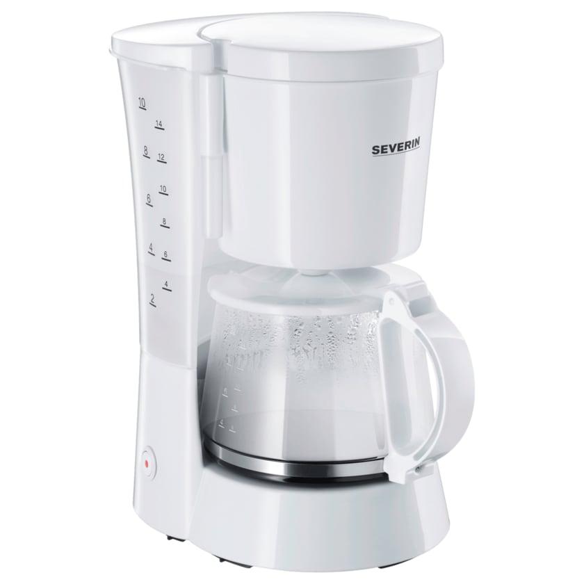 Severin Kaffeemaschine KA 4478 Weiß 800W