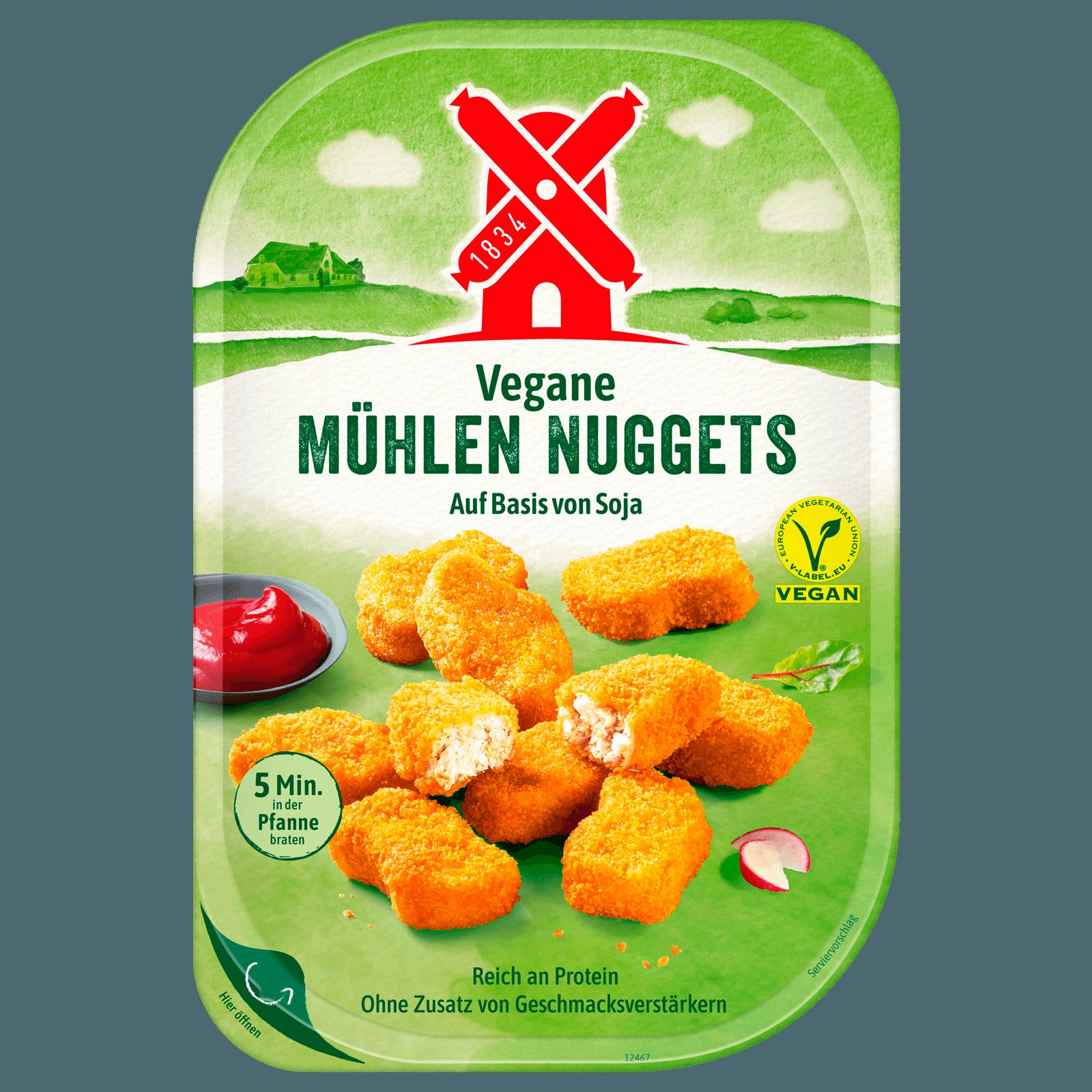 Rügenwalder Mühle Vegetarische Mühlen-Nuggets klassisch 180g