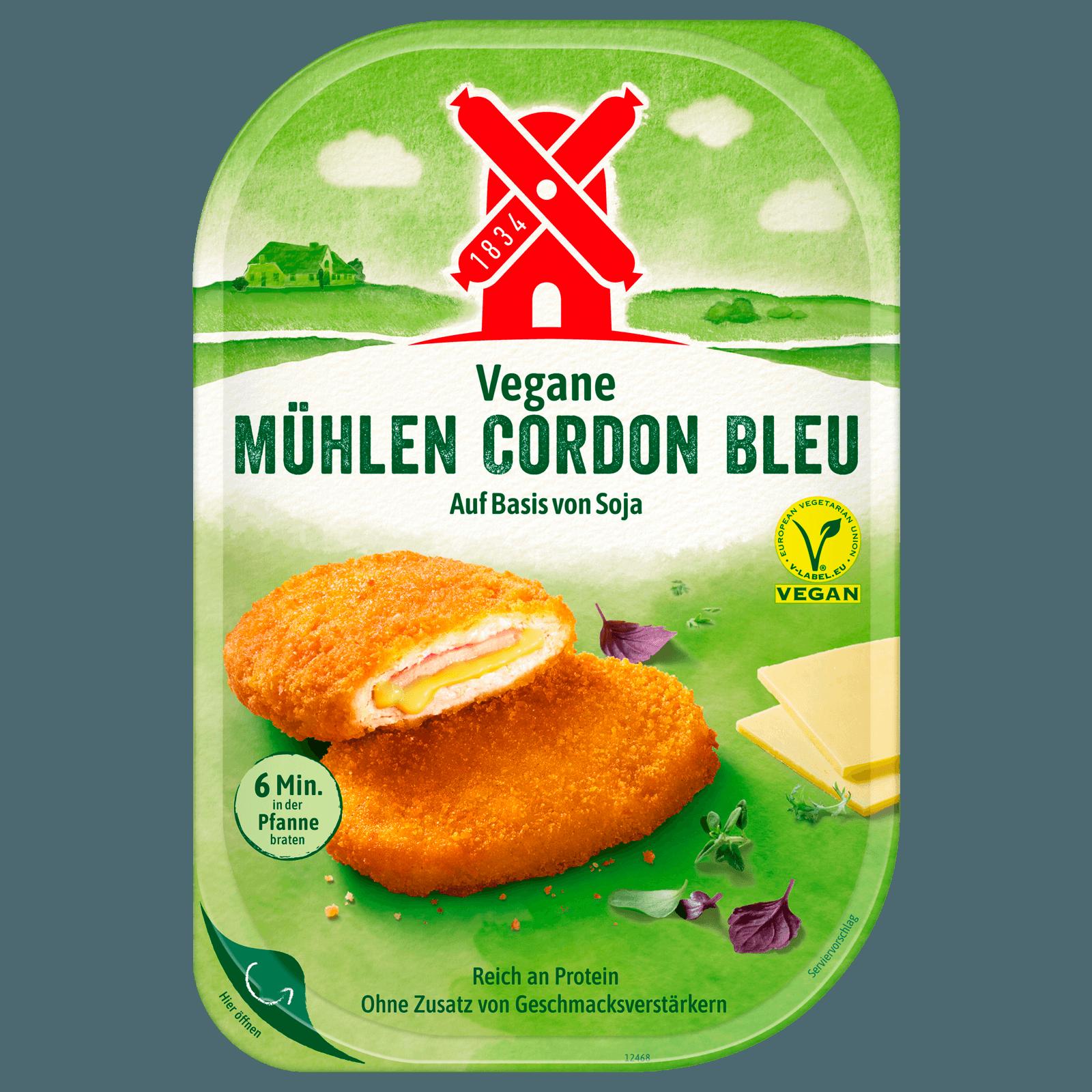 Rügenwalder Mühle Vegetarische Mühlen-Schnitzel Cordon bleu 200g