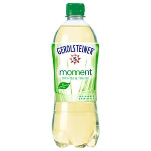 Gerolsteiner Moment Grüntee & Traube 0,75l