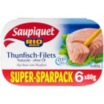 Saupiquet Thunfisch Filet in Olivenöl 6x80g
