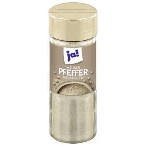 ja! Peffer weiß gemahlen 50g