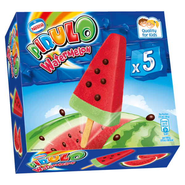 nestl sch ller eis pirulo watermelon multipackung 5x73ml bei rewe online bestellen. Black Bedroom Furniture Sets. Home Design Ideas