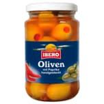 Ibero Grüne Oliven mit Paprika 330g