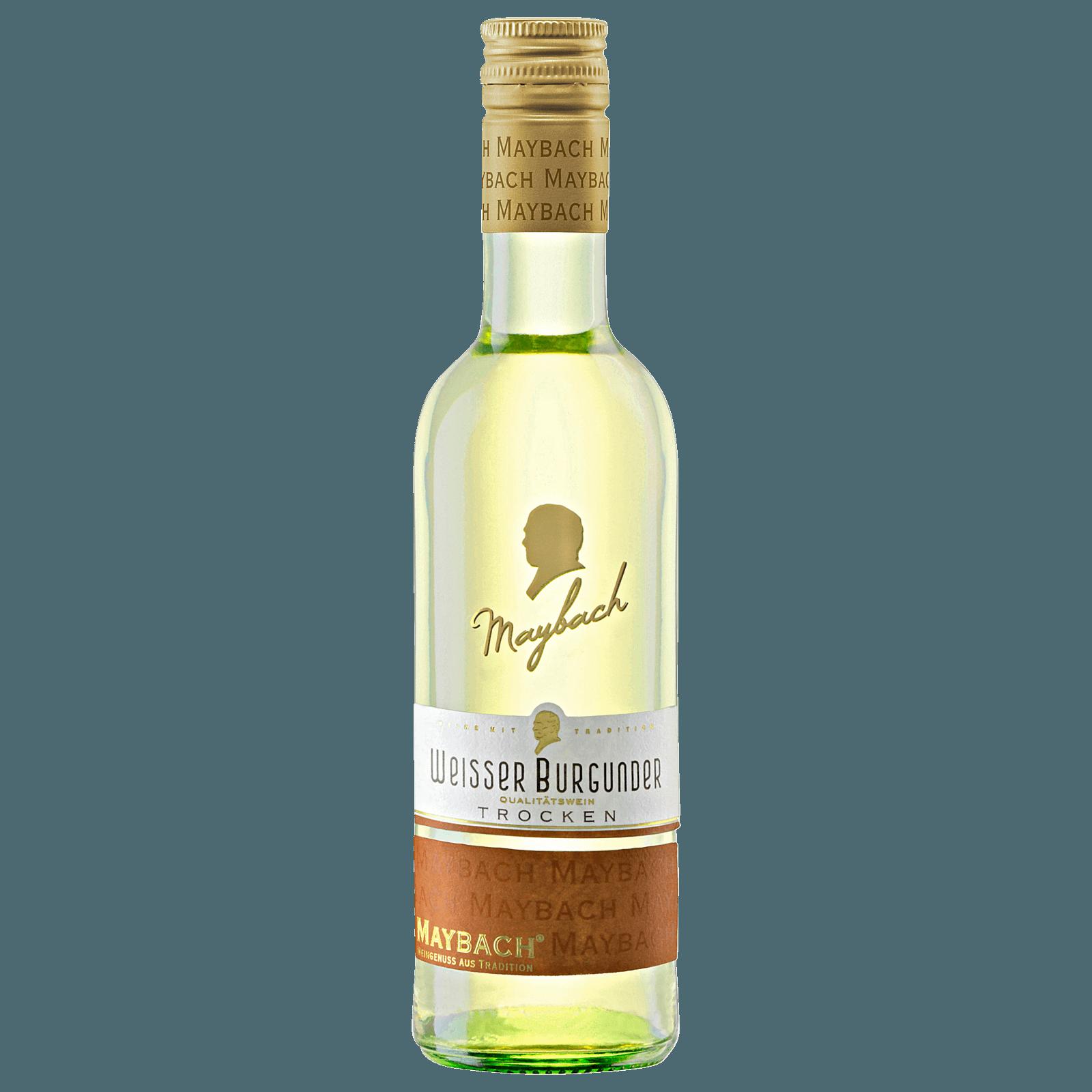 Maybach Weißer Burgunder QbA trocken 0,25l bei REWE online bestellen!