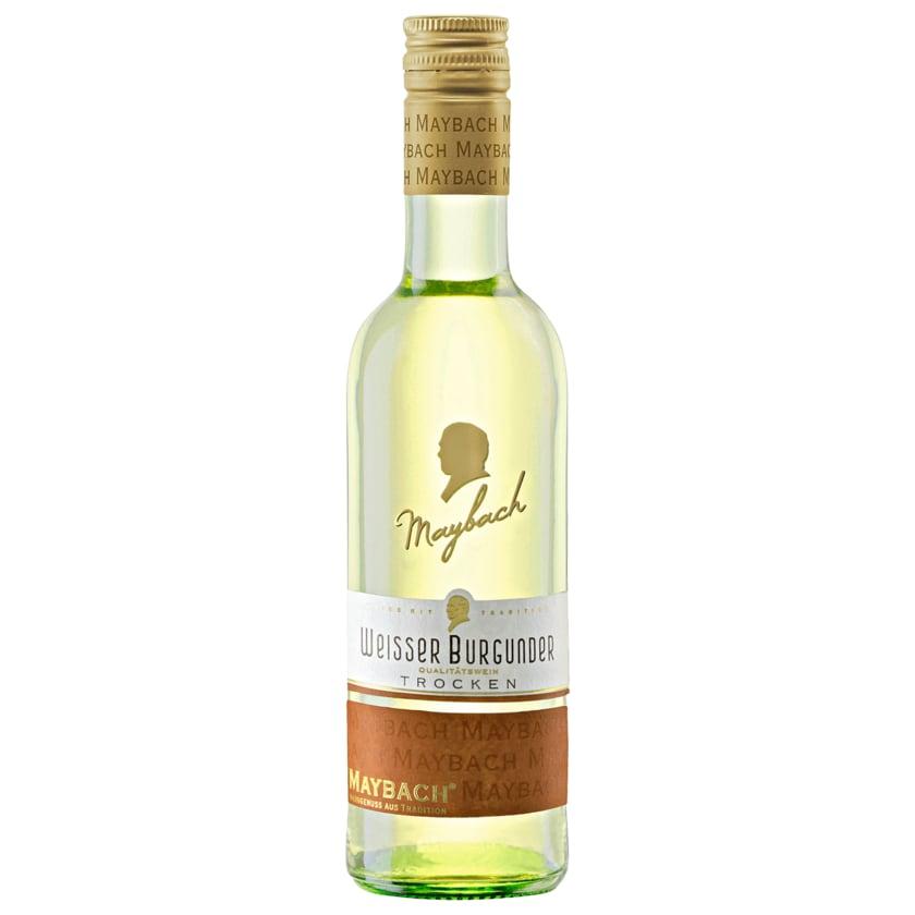 Maybach Weißwein Weißer Burgunder QbA trocken 0,25l