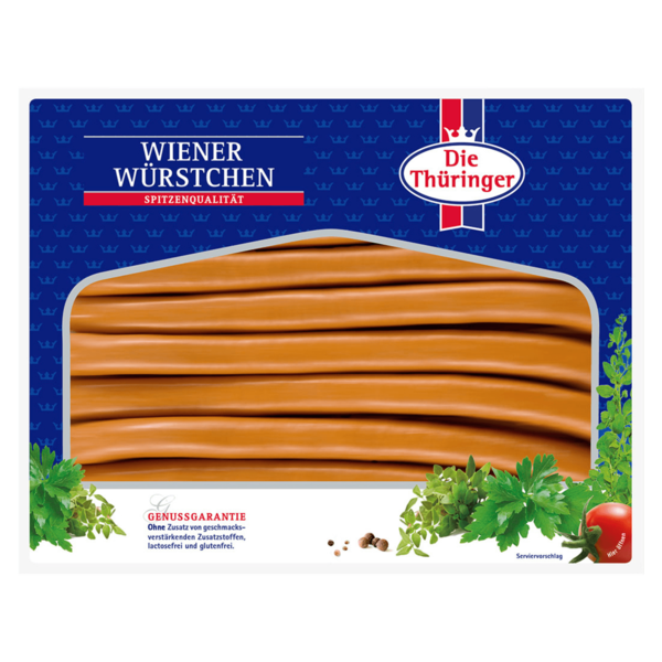 Thüringer Wiener Würstchen 500g