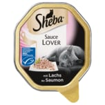 Sheba Sauce Lover mit Lachs 85g