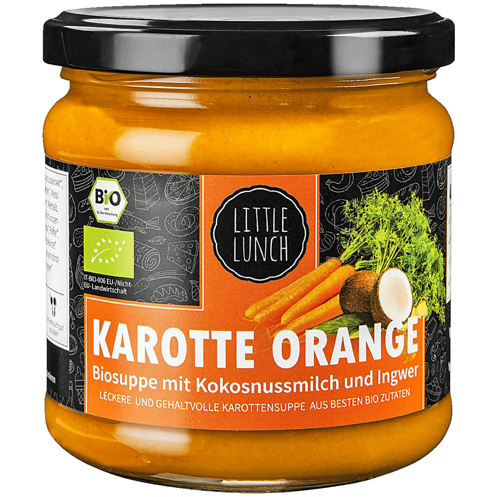 Little Lunch Biosuppe Karotte-Orange 350ml