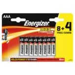 Energizer Batterien MAX +Powerseal 8+4 Micro AAA