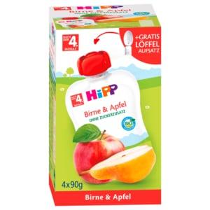 Hipp Birne & Apfel 4x90g