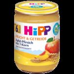 Hipp Frucht & Getreide Apfel-Pfirsich mit 7-Korn 190g