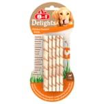 8in1 Delights Twisted Sticks Chicken 55g