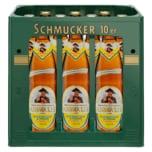 Schmucker Hefeweizen Zitrone alkoholfrei 10x0,5l