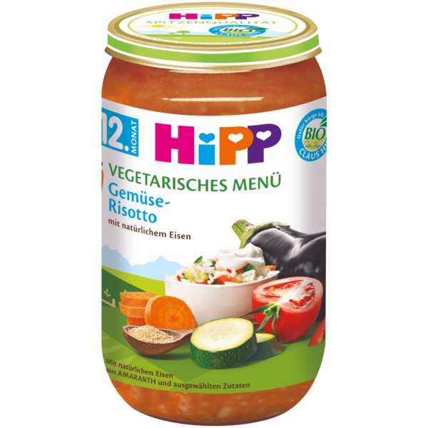 Hipp Menüs Bio Gemüse-Risotto 250g