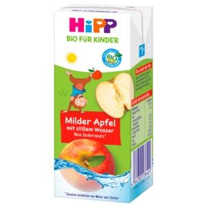 Hipp Trink-Spaß Bio-Apfelsaft mit stillem Wasser 1-3 Jahre 200ml