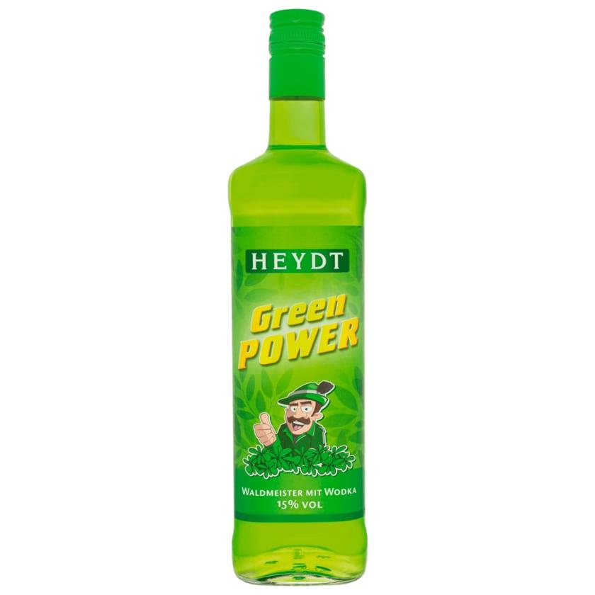 Heydt Green Power / Waldmeister mit Weizenkorn 0,7l