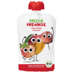 Erdbär Freche Freunde Apfel, Mango & Pfirsich 100g