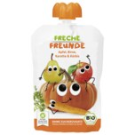 Erdbär Freche Freunde Apfel, Bio Birne, Karotte & Kürbis 100g