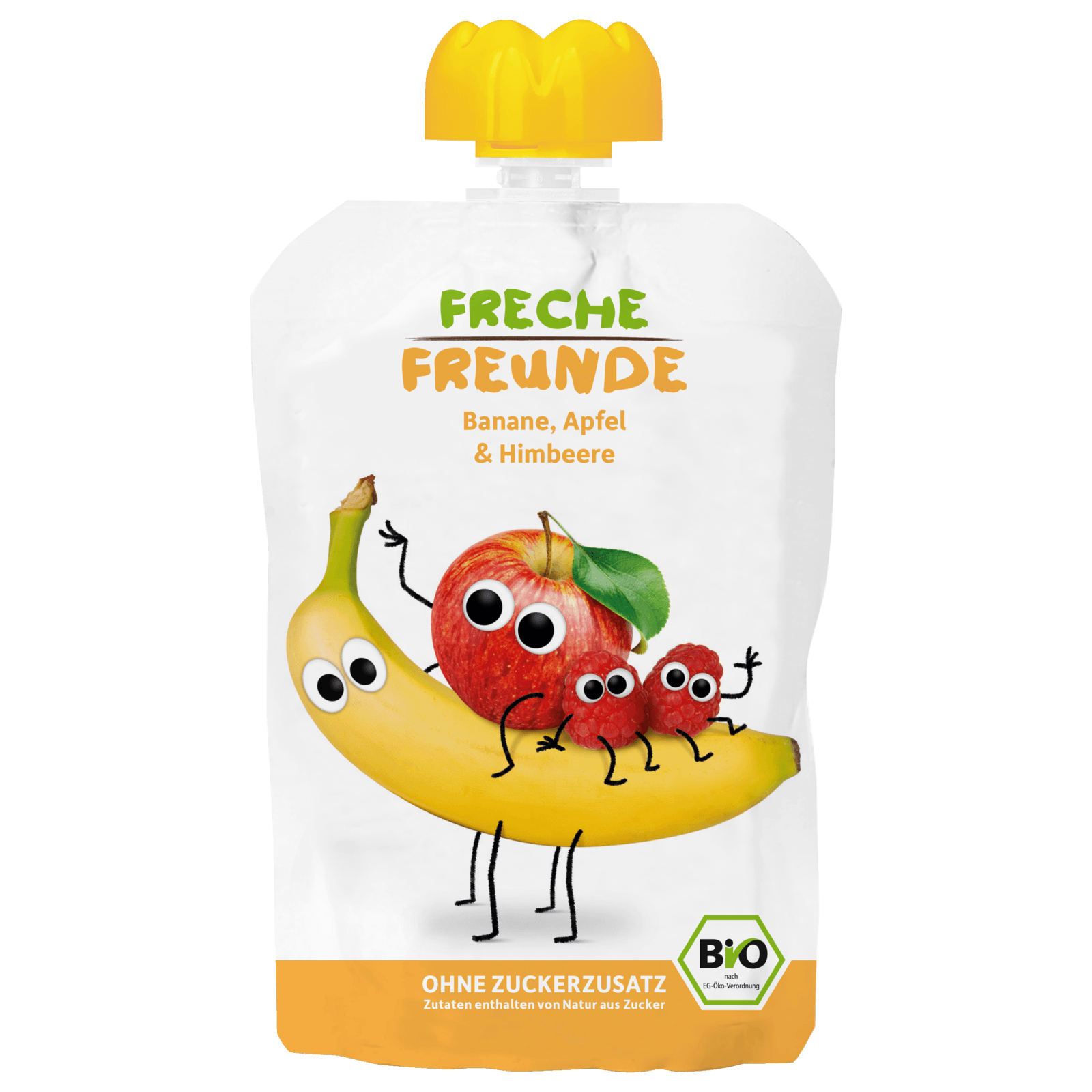 Erdbär Freche Freunde Apfel, Banane & Himbeere 100g