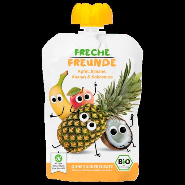 Erdbär Freche Freunde Bio Apfel, Banane & Kokos 100g