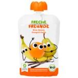 Erdbär Freche Freunde Bio Birne, Banane, Orange, Vanille 100g