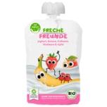 Erdbär Freche Freunde Bio Joghurtmus Erdbeer & Himbeer 100g