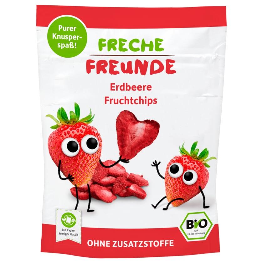 Erdbär Freche Freunde Erdbeerchips Bio 12g