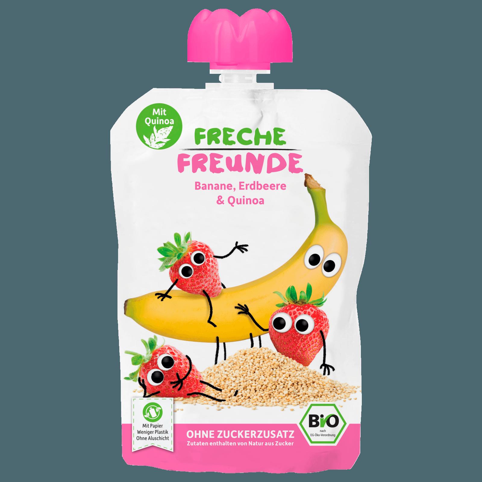 Erdbär Freche Freunde Banane, Erdbeer & Quinoa 100g