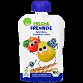 Erdbär Freche Freunde Apfel, Birne & Dinkel 100g