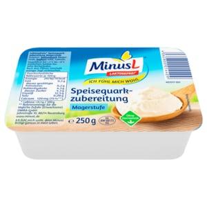 MinusL Speisequarkzubereitung 250g