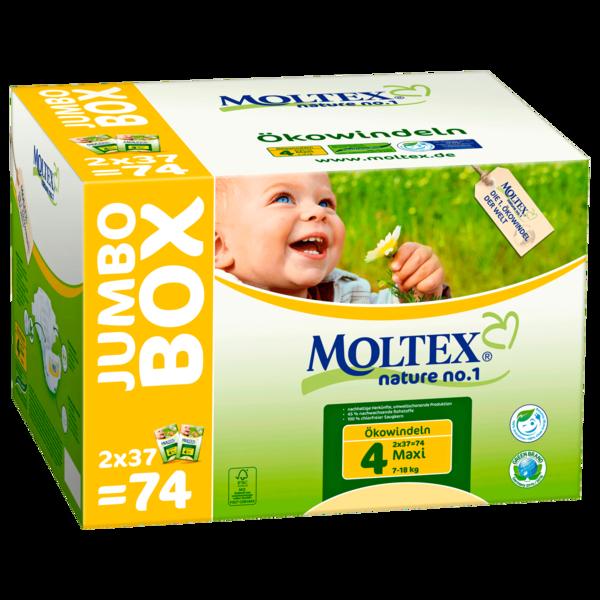 Moltex Nature No.1 Maxi Jumbo 74 Stück