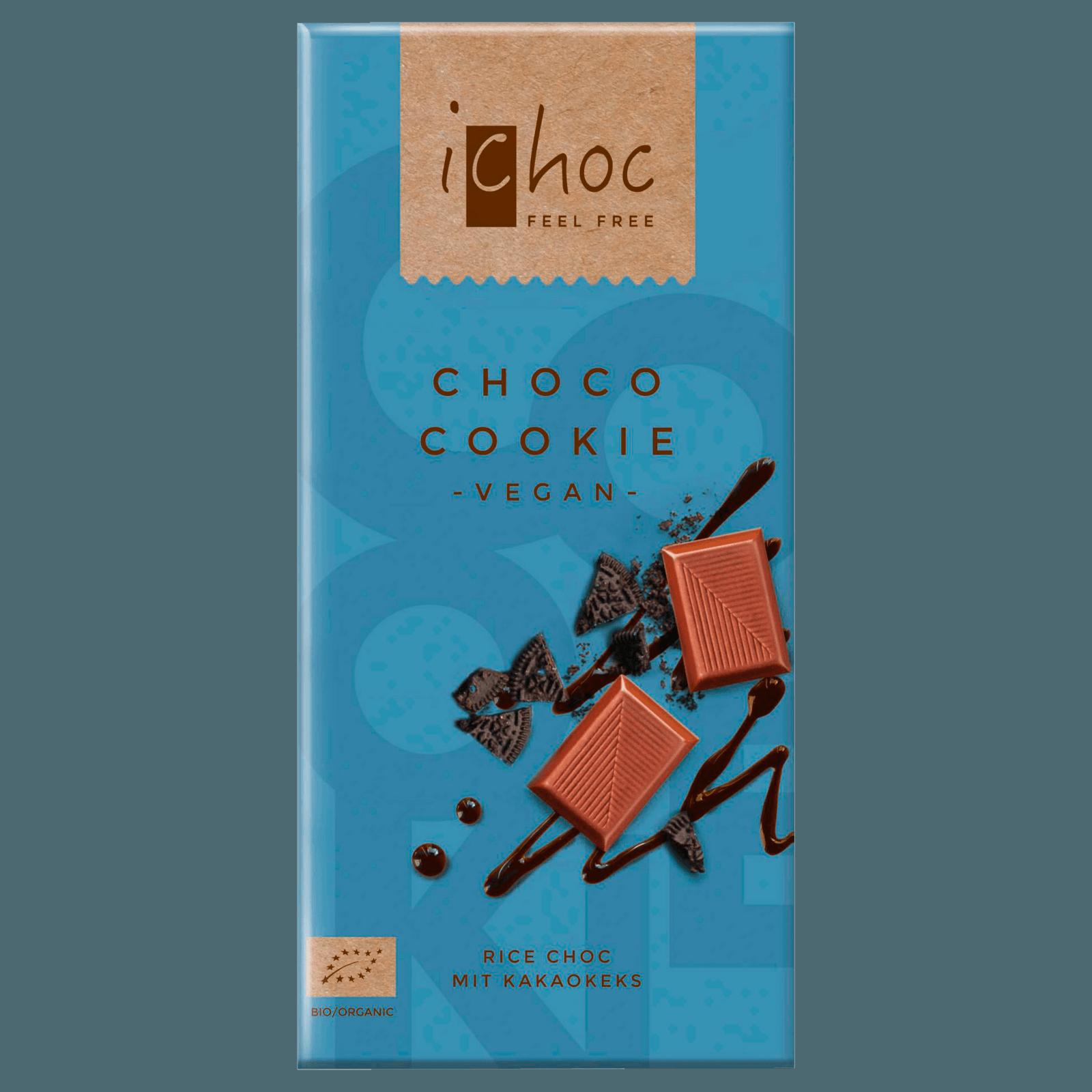 iChoc Choco Cookie Rice Choc 80g