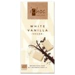 iChoc Bio White Vanilla Rice Choc 80g