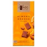 iChoc Bio Schokolade Almond Orange vegan 80g