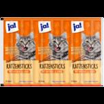 ja! Katzensticks Geflügel & Leber 10 Stück