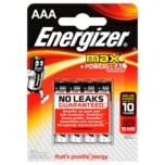 Energizer Alkaline Max AAA Micro 4 Stück
