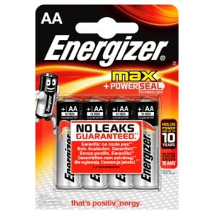 Energizer Alkaline Max AA Mignon 4 Stück