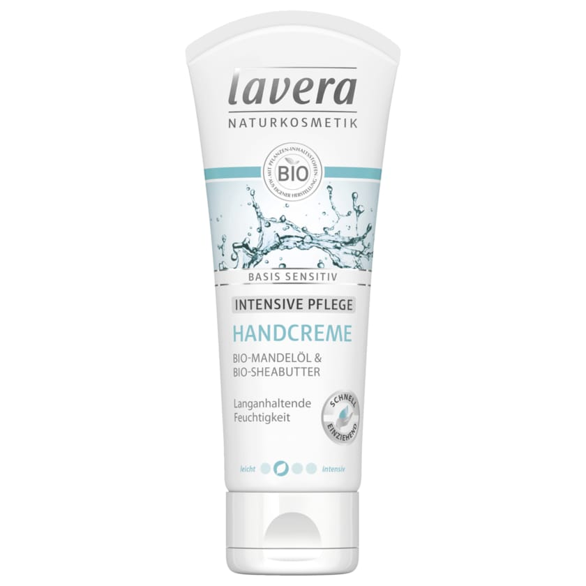Lavera Handcreme Basis Sensitiv 75ml