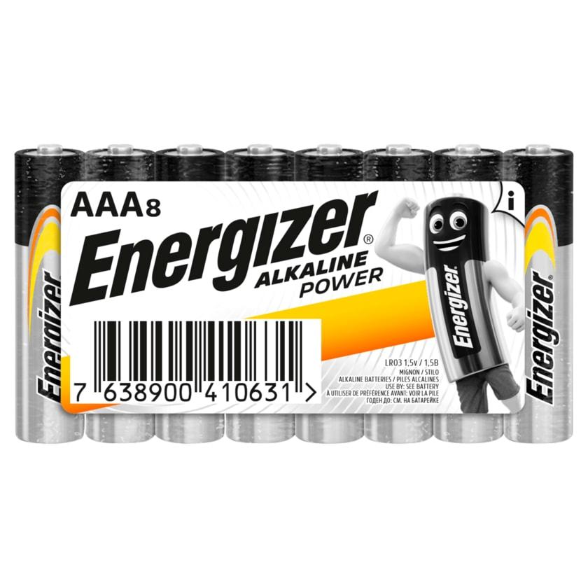Energizer Alkaline Power Micro-Batterien AAA 8 Stück