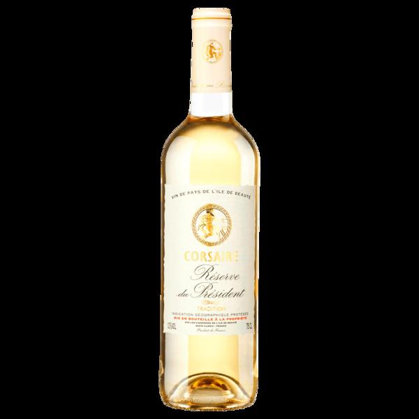 Corsaire Reserve du President Weißwein blanc trocken 0,75l