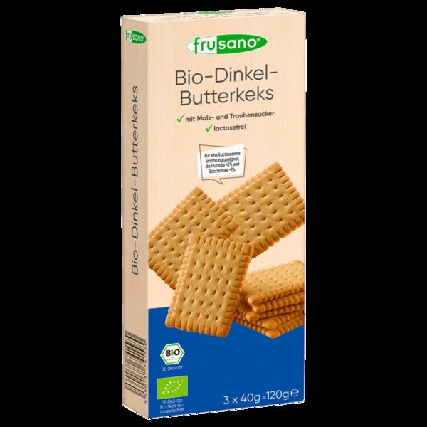 Frusano Bio Dinkel-Butterkeks 120g
