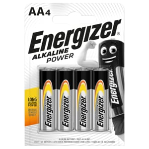 Energizer Alkaline Power AA Mignon 4er