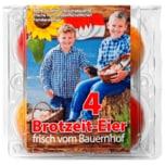 Kasendorfer bunte Brotzeit-Eier 4 Stück