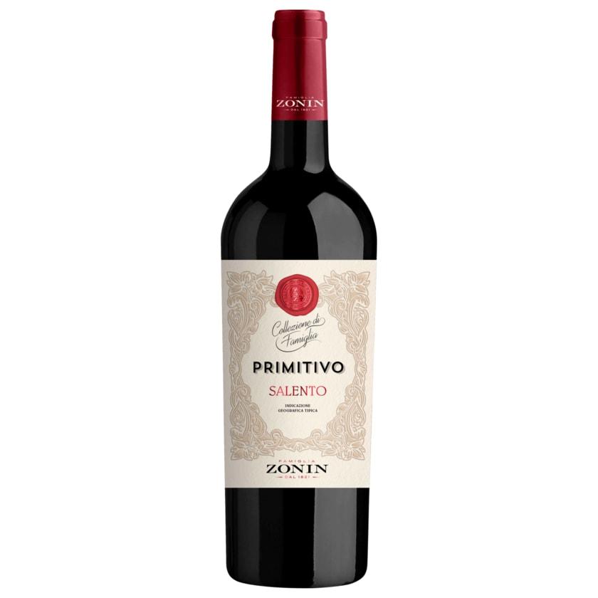 Zonin Rotwein Primitivo IGT trocken 0,75l
