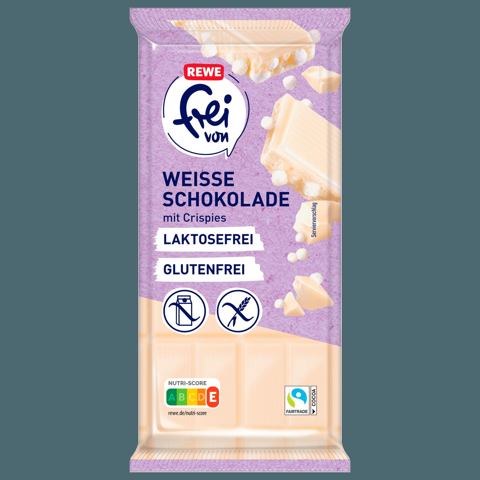 Rewe Frei Von Weisse Schokolade Crisp 100g Bei Rewe Online Bestellen
