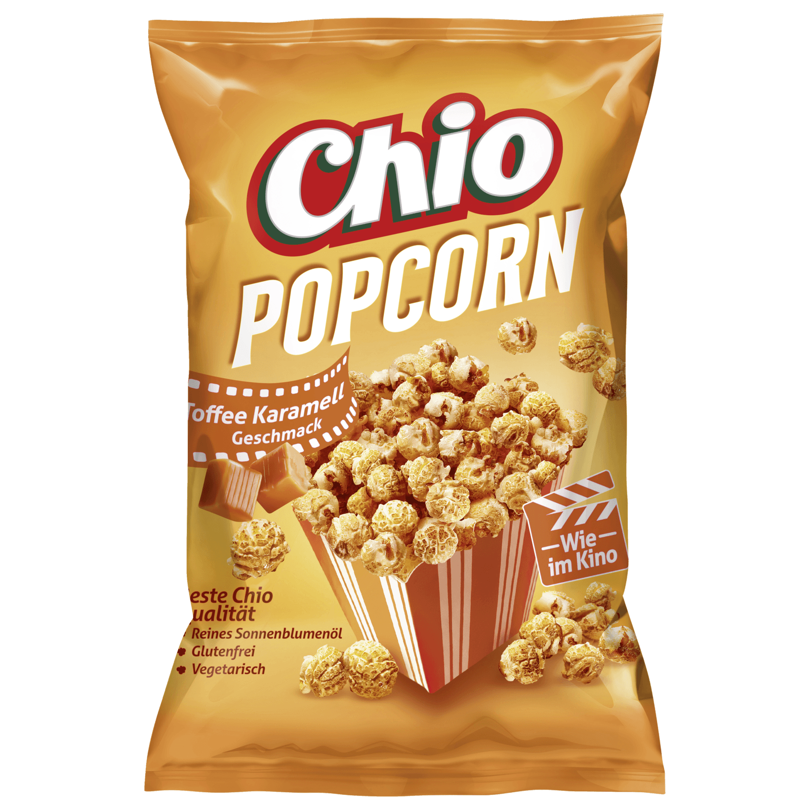 Chio Ready Popcorn Toffee-Karamell 120g