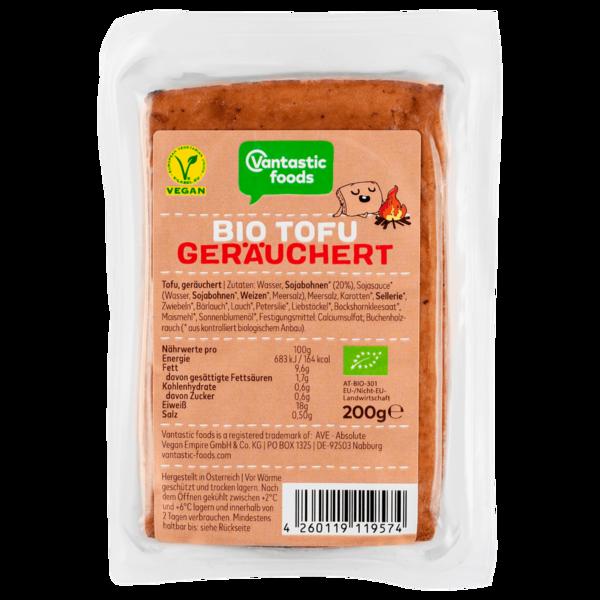 Vantastic Foods Bio Tofu geräuchert vegan 200g