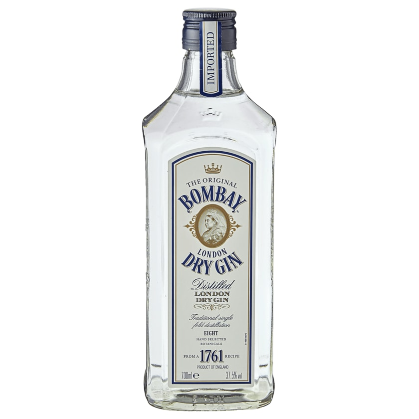 Bombay London Dry Gin 37,5% 0,7l